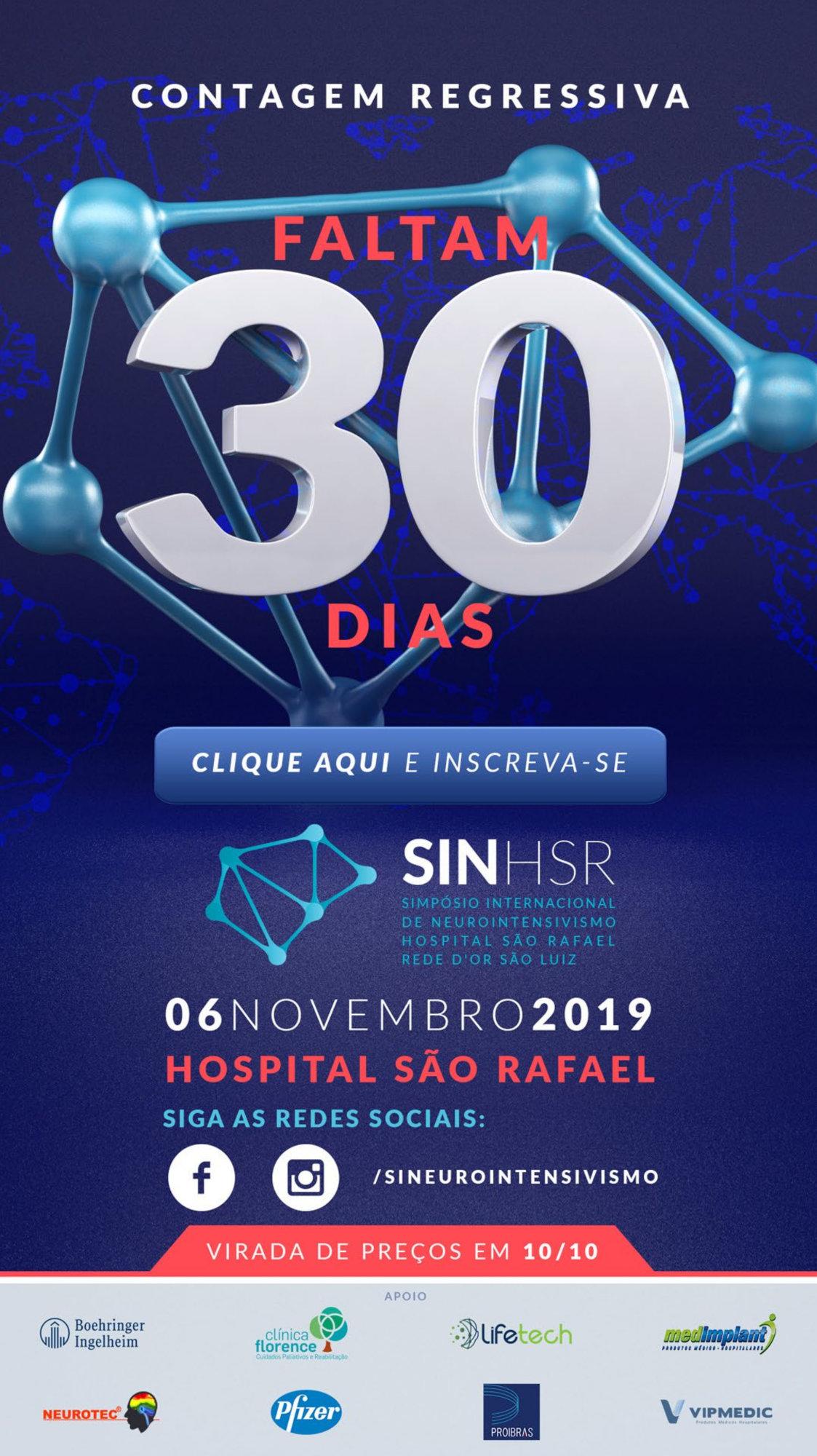 Simpósio Internacional de Neurointensivismo do Hospital São Rafael